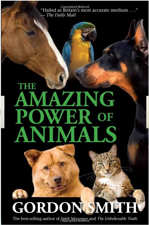 the amazing power of animals - book cover